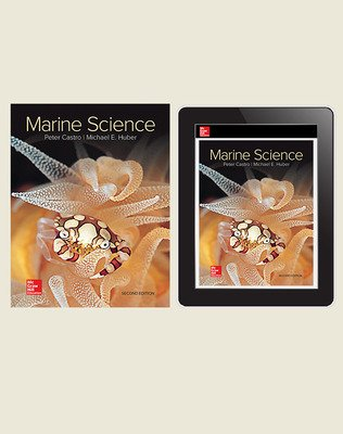 Castro, Marine Science, 2019, 2e, Standard Student Bundle (Student Edition with Online Student Edition) 6-year subscription