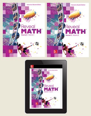 Reveal Math Course 2, Student Bundle, 1- year subscription