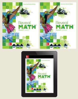 Reveal Math Course 3, Student Bundle, 1- year subscription