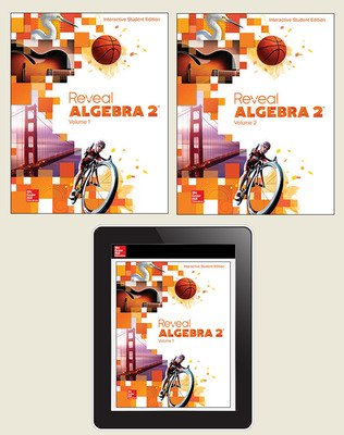 Reveal Algebra 2, Student Bundle, 1-year subscription