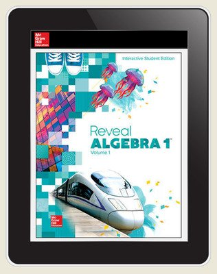 Reveal Algebra 1, Student Digital License, 6-year subscription