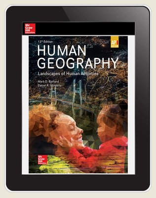 Bjelland, Human Geography, 2020, 13e, (AP Ed), Digital Student Subscription, 6-year subscription