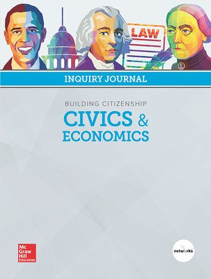 Building Citizenship: Civics and Economics, Print Inquiry Journal, 6-year Fulfillment
