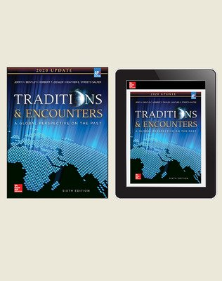 Bentley, Traditions and Encounters, 2020, 6e, Standard Student Bundle (Student Edition with Online Student Edition), 1-year subscription
