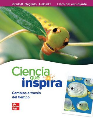 Inspire Science: G8 Integrated, Spanish Write-In Student Edition, 4-Unit Bundle