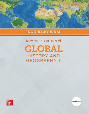 CUS New York Global History and Geography II Grade 10, Student Inquiry Journal