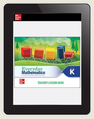 Everyday Mathematics 4 c2020 National Teacher Center Grade K, 3-Year Subscription