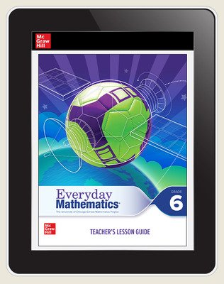 Everyday Mathematics 4 c2020 National Teacher Center Grade 6, 3-Year Subscription