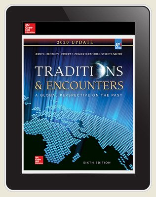 Bentley, Traditions and Encounters, 2020, 6e, Online Student Edition, 1 yr subscription