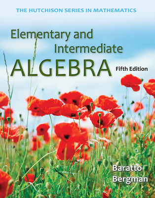 Loose Leaf Version for Elementary and Intermediate Algebra