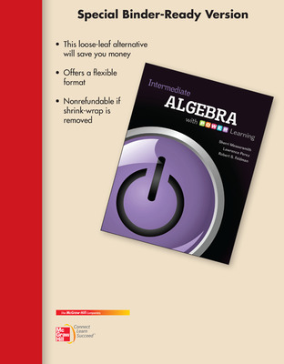 Loose Leaf for Intermediate Algebra With P.O.W.E.R. Learning