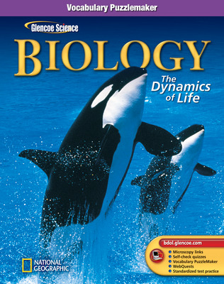 Glencoe Biology: The Dynamics of Life, Vocabulary Puzzlemaker