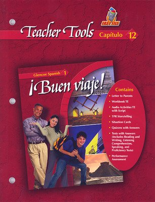 ¡Buen viaje! Level 1, TeacherTools Chapter 12