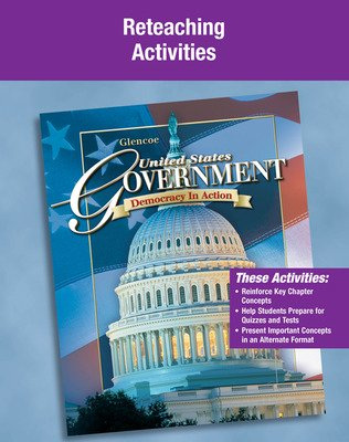 United States Government, Democracy in Action, Reteaching Activity