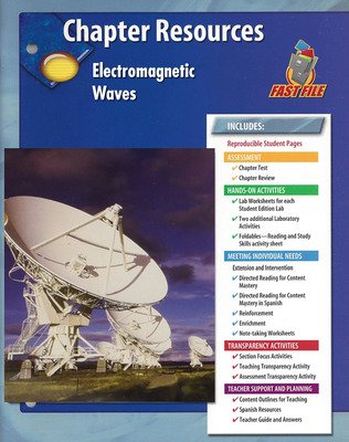 Glencoe Physical iScience, Grade 8, Chapter Fast File: Electromagnetic Waves