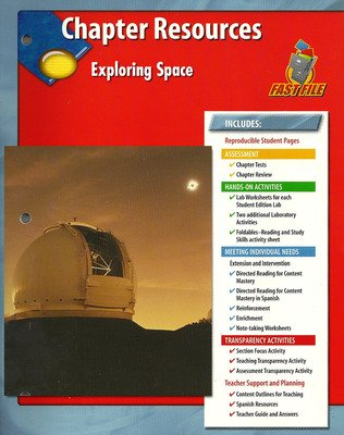 Glencoe Earth iScience Modules: Astronomy, Grade 6, Chapter Fast File: Exploring Space Chapter