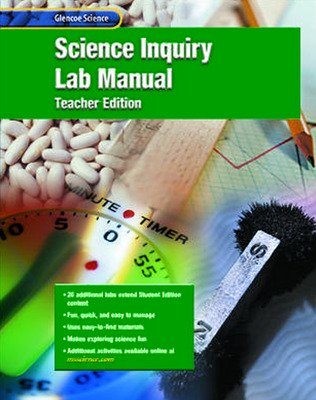 Glencoe Physical iScience, Grade 8, Science Inquiry Laboratory Manual, Teacher Edition