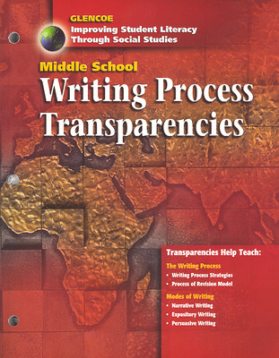 Social Studies, Middle School Writing Process Transparencies, Strategies, and Activities