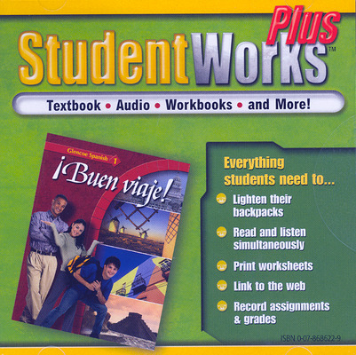 ¡Buen viaje! Level 1, StudentWorks Plus CD-ROM