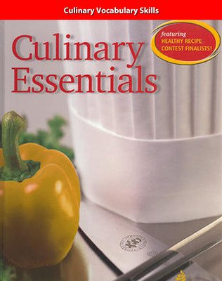 Culinary Essentials, Vocabulary Skills, Teacher Manual
