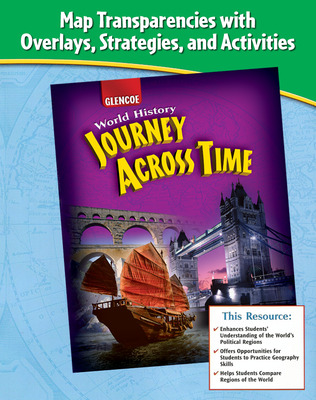 Journey Across Time, Map Transparencies, Strategies and Activities