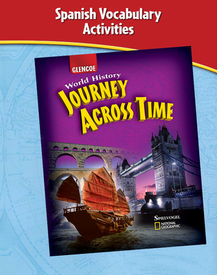 Journey Across Time, Spanish Vocabulary Activities