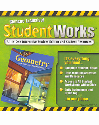 Geometry: Concepts and Applications, StudentWorks CD-ROM