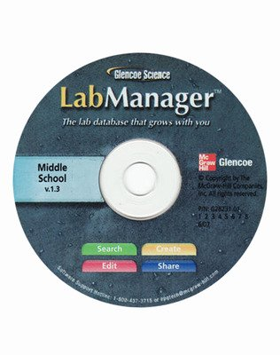 Glencoe Life Science Modules: Life's Structure and Function, Grade 7, Lab Manager CD-ROM