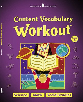 Jamestown Education, Content Vocabulary Workout, Student Edition, Grade 8