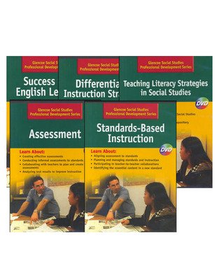 Social Studies Grades 6-12 Professional Development Series, 5-DVD Package