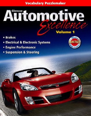 Automotive Excellence, Vocabulary Puzzlemaker CD-ROM,  Volume 1