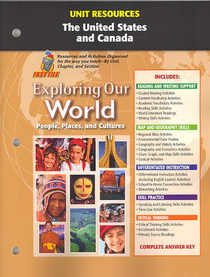 Exploring Our World, Unit Resources United States and Canada