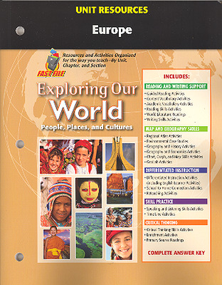 Exploring Our World, Unit Resources Europe