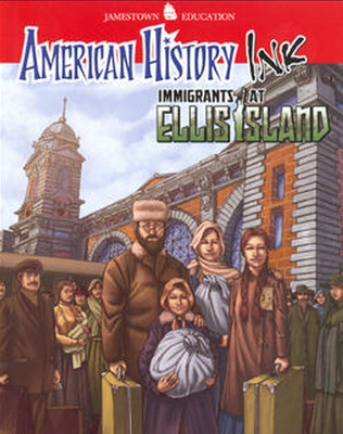 American History Ink Immigrants at Ellis Island