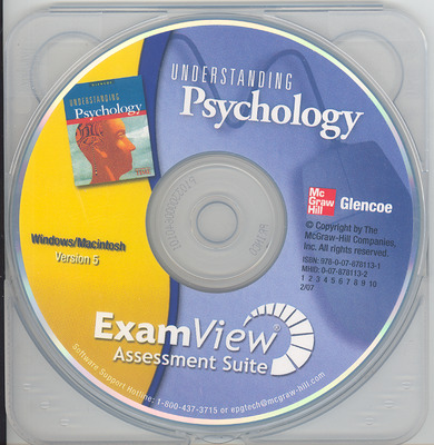 Understanding Psychology, ExamView Assessment Suite CD-ROM