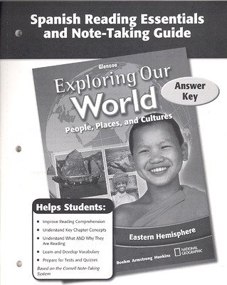 Exploring Our World: Eastern Hemisphere, Spanish Reading Essentials and Note-Taking Guide Answer Key