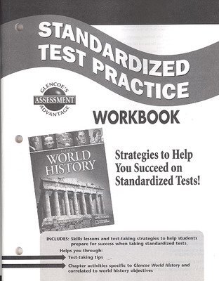 Glencoe World History, Standardized Test Practice Workbook, Student Edition