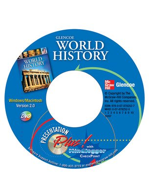 Glencoe World History, Presentation Plus! with MindJogger Checkpoint DVD