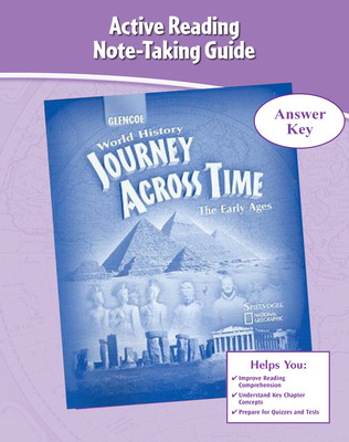 Journey Across Time, Early Ages, Active Reading and Note-Taking Guide, Answer Key