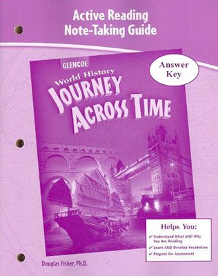 Journey Across Time, Active Reading Note-Taking Guide, Answer Key