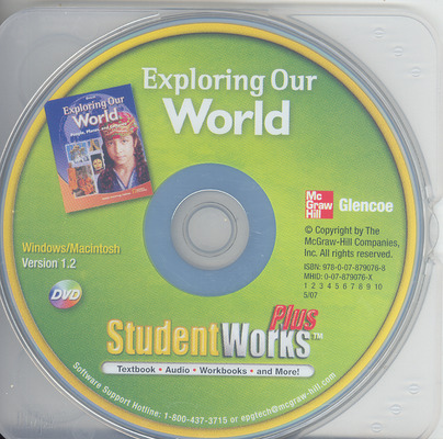 Exploring Our World, StudentWorks Plus DVD