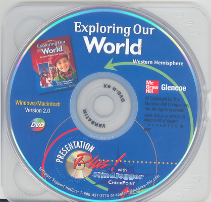 Exploring Our World: Western Hemisphere, Europe, and Russia, Presentation Plus! with MindJogger Checkpoint DVD