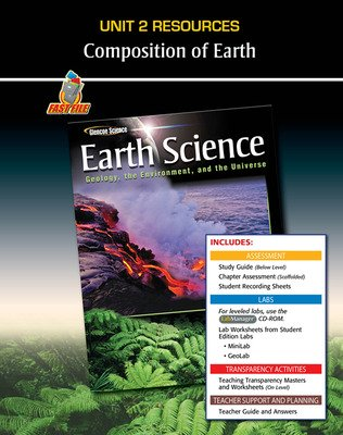 Glencoe Earth Science: Geology, the Environment, and the Universe, Unit 2 Fast Files