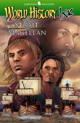 World History Ink The Strait of Magellan