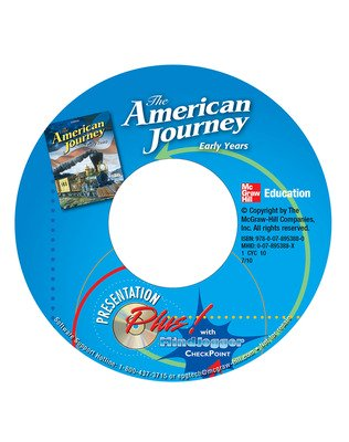 The American Journey, Early Years, Presentation Plus with MindJogger CD-ROM