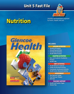 Glencoe Health, Fast File Unit Resources Unit 5