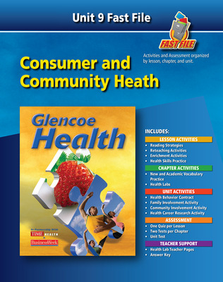Glencoe Health, Fast File Unit Resources Unit 9