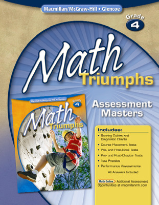 Math Triumphs, Grade 4, Assessment Masters