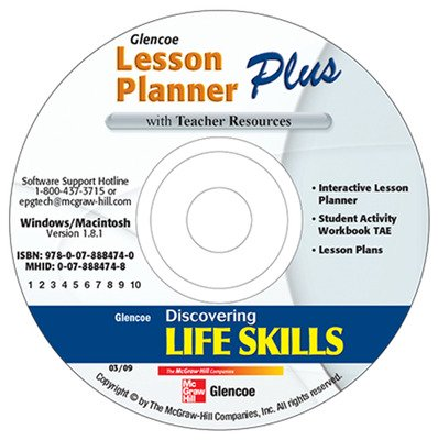 Discovering Life Skills, Lesson Planner Plus