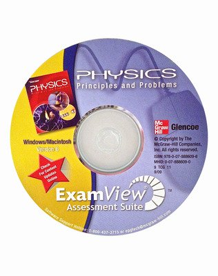 Glencoe Physics: Principles & Problems, ExamView Assessment Suite CD-ROM